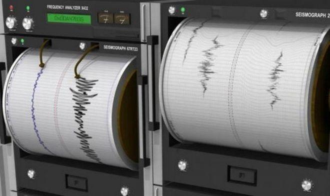 Σεισμός στα δυτικά της Εύβοιας