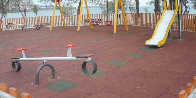 Ολοκληρώθηκε η κατασκευή της παιδικής χαρας στην περιοχή 'Καναπίτσα'