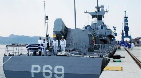 28η Οκτωβρίου: Η πυραυλάκατος «ΚΡΥΣΤΑΛΛΙΔΗΣ»  στη Χαλκίδα