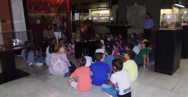 Επίσκεψη των Δ, Ε και Στ τάξεων του 24ου Δ.Σ. Χαλκίδας στο Πολεμικό Μουσείο Αθηνών