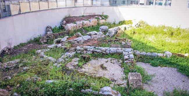 Η Αρχαία αγορά (Εμπορικό κέντρο) της Χαλκίδας