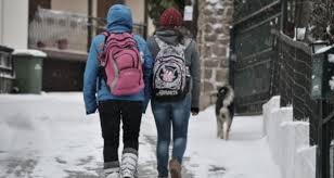 Κλειστά τα σχολεία και αύριο Τρίτη 10/1/2017