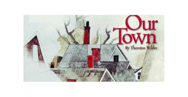 """""""Η Μικρή μας Πόλη"""" του Thornton Wilder στο θέατρο Παπαδημητρίου."""