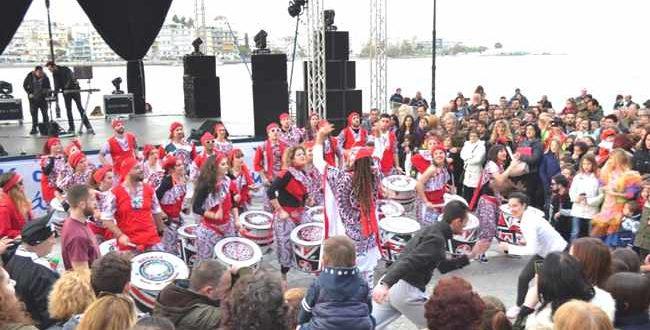 Εντυπωσιακή η έναρξη των εκδηλώσεων της Αποκριάς στη Χαλκίδα