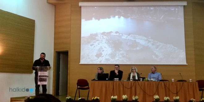 Από την παρουσίαση της πρότασης του πολιτιστικού χώρου Αυλιδείας Αρτέμιδος