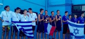 Στο βάθρο η εθνική μας ομάδα στους Μεσογειακούς Αγώνες