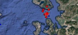 Ισχυρός σεισμός 6,1 Ρίχτερ ανοιχτά της Μυτιλήνης.
