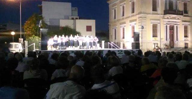 Ο Χορωδιακος Σύλλογος Χαλκίδας και η Χορωδία 50+ στα «Ευριπεια 2017»