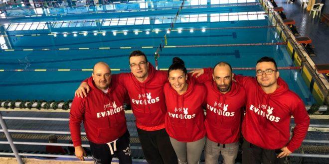 Με επιτυχίες και μετάλλια οι κολυμβητές του τμήματος mastres του Ευβοϊκού ΓΑΣ