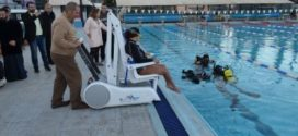 Τοποθετήθηκε ρομποτικός μηχανισμός πρόσβασης ΑμεΑ στο Κολυμβητήριο