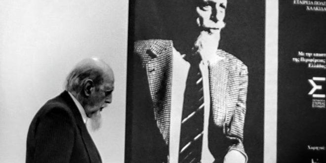Η ομιλία του καθηγητή κ. Θεοδόσιου Τάσιου στο Μουσείο της Αρέθουσας